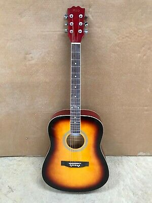 Sunburst 41'' 4/4 Size Beginner Dreadnought Acoustic Guitar