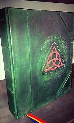 Charmed Blank book of shadows-Great size 11 x 13,77 inches- 1000 pages-wicca-REF
