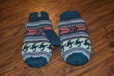 E7- The North Face Acrylic Mittens Size Women's M-L