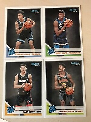 2019-20 DONRUSS Basketball Rated Rookie Cards You Pick  99¢ Ea. or 2 for $1.00