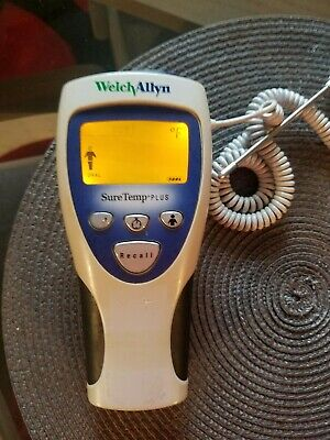 Welch Allyn 692 Digital Thermometer Sure Temp PLUS