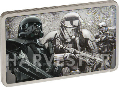 2020 Star Wars - Guards Of The Empire - Death Trooper - 1 Oz. Silver Coin - Ogp