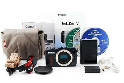 Canon EOS M 18.0MP Mirrorless Digital Camera Blue w/Box Exce+++++ Tested #5326
