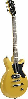 FFDCS Firefly Solid Body Electric Guitar Gold Color
