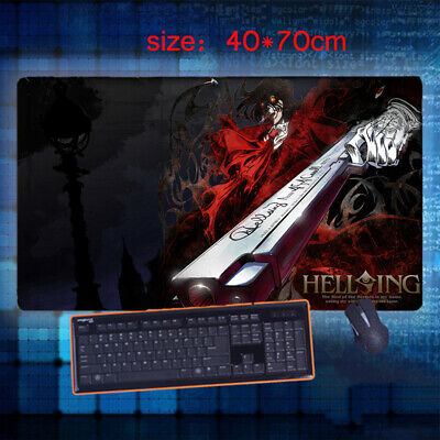 Hot Anime Hellsing Seras Victoria Keyboard GAME Mouse Pad Table Mat Gift 70*40cm