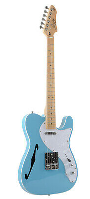 NEW Firefly FFTH firefly Semi-Hollow body Guitar Electri Gutiar (Blue Color)