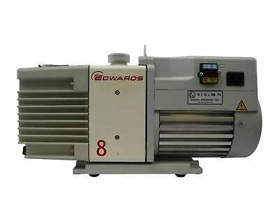 Edwards Rotary Vane Dry Vacuum Pump Rv 8 854-01-903