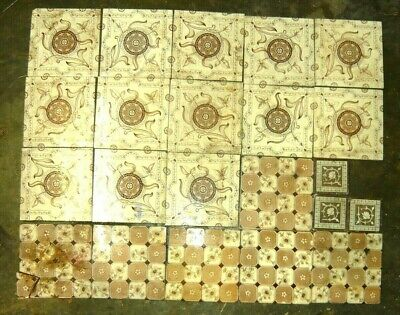 Antique tiles - from fireplace ?