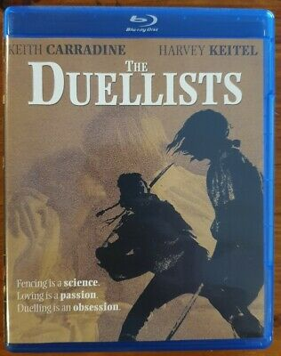 THE DUELLISTS BLU-RAY Ridley Scott - Shout Factory RARE and OOP
