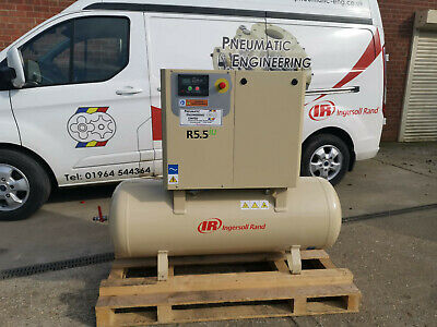 NEW INGERSOLL RAND ROTARY SCREW AIR COMPRESSOR 5.5kW 10 BAR