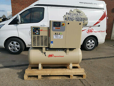 NEW INGERSOLL RAND ROTARY SCREW AIR COMPRESSOR 2.2kW 10 BAR WITH BUILT IN DRYER