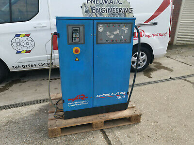 WORTHINGTON CREYSSENSAC ROLLAIR SCREW COMPRESSOR RLR 1500 11kW 8 BAR