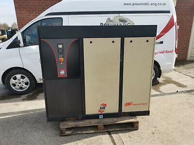 INGERSOLL RAND NIRVANA N22 SCREW COMPRESSOR 22kW WITH BUILT IN DRYER