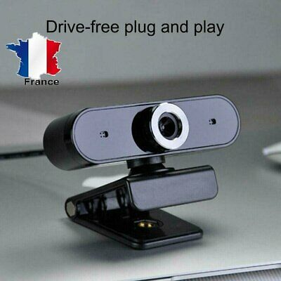 USB 2.0 Webcam HD Camera  Web Cam with Microphone For Desktop Laptop Computer FR
