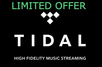 TIDAL HI-FI Master 6 Months GUARANTEED INSTANT DELIVERY (1H)