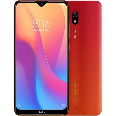 Xiaomi Redmi 8A Dual Sim 32GB+2GB RAM 6.2' NUOVO Android Sunset Red Global
