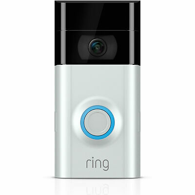 Ring Certified Refurbished Motion-Activated HD Video Doorbell 2