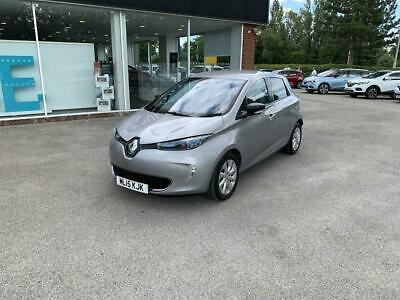 2015 15 RENAULT ZOE 65kW Dynamique Intens 5dr Auto in Grey