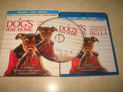 A Dog's Way Home (Blu-ray, 2019, Canadian) - Eng/French/Span **NO DVD**NO DIG**