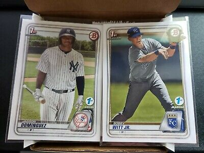 2020 Bowman 1st First Edition Base You Pick Complete Your Set 1-150
