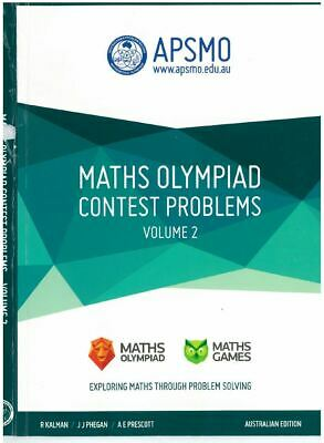APSMO Maths Olympiad Contest Problems Volume 2, whole book in pdf file format