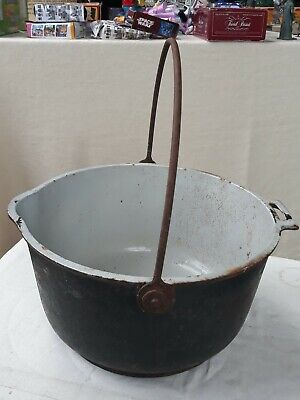 Vintage Cast Iron Antique Victorian Gypsy 6 Quart Cooking Pot Kenrick