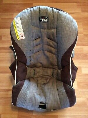 CHICCO Keyfit 30 Infant Car Seat Cushion Cover Part Replacement Brown Beige
