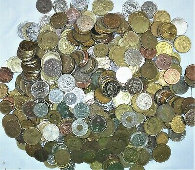 5 Pound Bag Of Old Tokens Arcade, Transportation ,Business, Many Different