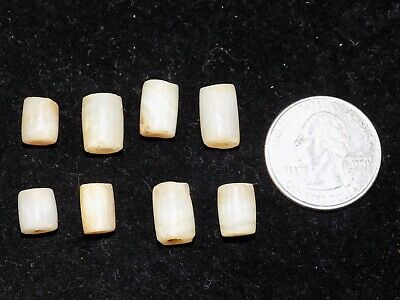 Pre-Columbian Agate Beads, Collection of 8, Tairona Culture