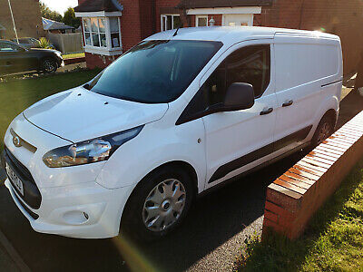 Ford Transit Connect 240 L2 LWB Trend with AC + Racking