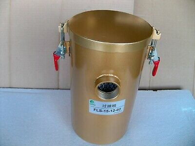 """AIR FILTER BARREL (With Filter Element) for Regenerative Blowers, 1-1/4"""" IN/OUT"""