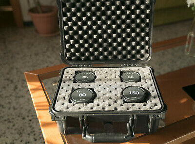 Mamiya 645 sekor C cinemoded lens set (45, 55, 80 and 150mm)