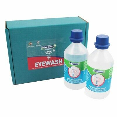 Wallace Cameron Sterile Eye Wash 500ml Dual Pack 2404039