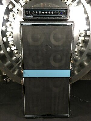 Acoustic B810 Bass Cabinet