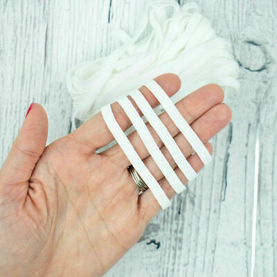 """1/4"""" Thin Elastic Band for face mask 