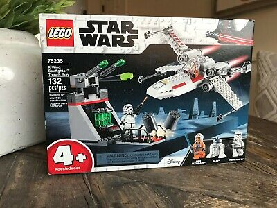 LEGO Star Wars X-Wing Starfighter Trench Run 75235 - Brand New, Sealed
