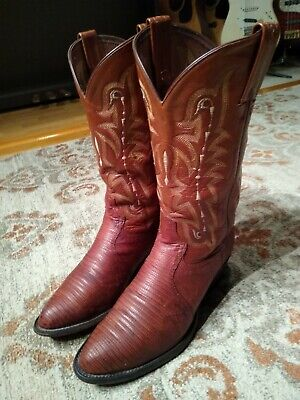 Handcrafted in The USA Tony Lama Mens Bonham 13 Height Pullon Western Boots CT873 | Foot Peanut Brittle SM Ostrich Cognac//Peanut Brittle Cowboy Leather Boot EE 10.5