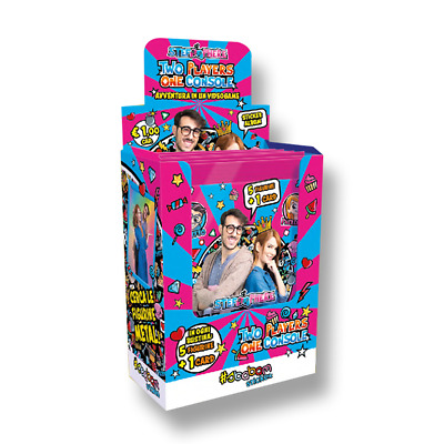 5 Bustine di Figurine Stef & Phere Two Players One Console