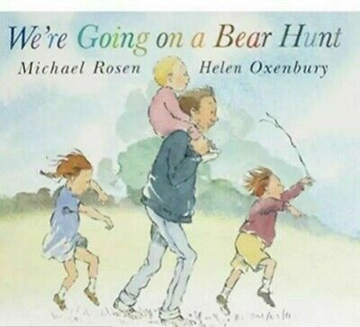 New-We're Going on a Bear Hunt by Michael Rosen  [Paperback]