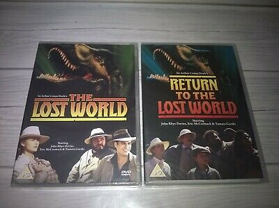 The Lost World / Return To The Lost World John Rhys-Davies Genuine R2 DVD New