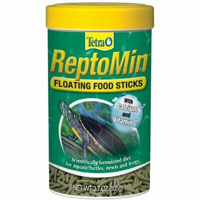 Tetra Reptomin Floating Food Sticks for Aquatic Turtles, Newts and Frogs, 3.7 oz