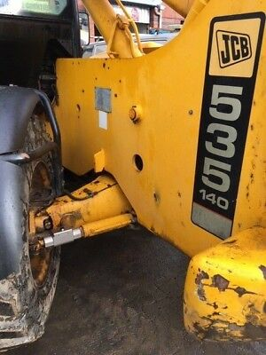 JCB Telehandler Anti Theft Steering Ram Lock Deterrent Locking System