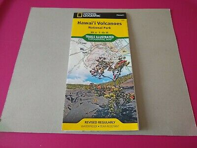 National Geographic Trails Illustrated Hawaii Volcanoes National Park Map 230
