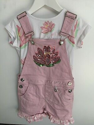 A dee waterlily dungaree set Age 6