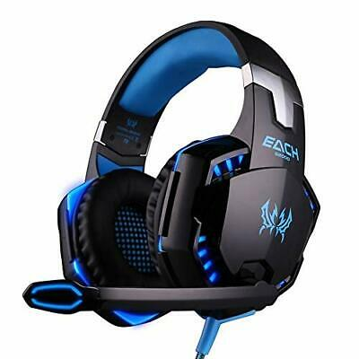 Auriculares Juego Gaming LED 3.5mm, Microfono PS4 Xbox PC Nintendo Switch