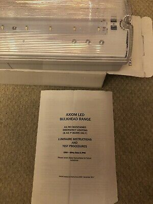 TRILUX  EMERGENCY LUMINAIRES 220-240 Wall Mount Energency Light 3.6V Battery