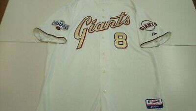 RARE Authentic 2014 GOLD WS SAN FRANCISCO GIANTS MLB baseball jersey#8 PENCE
