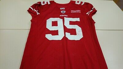 *ULTRA-RARE* SAN FRANCISCO 49ERS GAME WORN PRO NFL JERSEY. London Int. series