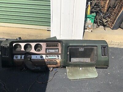 1969 GTO air condition Dash