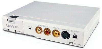 Canopus ADVC110 Analog Digital Video Converter - Transfer Tapes And 8mm Videos